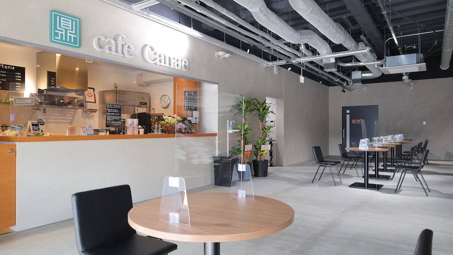 cafe Canae外観